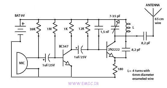 مدار-فرستنده-برای-رادیو-ماشین-چند-متری