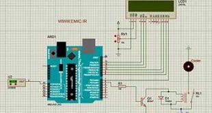 پروژه آردوینو کنترل دمای کولر با سنسور LM35