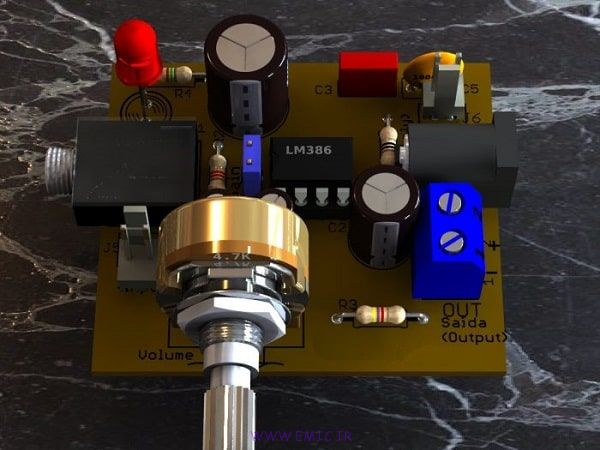 P-audio-power-amplifier-circuit-IC-LM386
