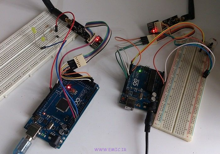 P-NRF24L01-Test-with-Arduino