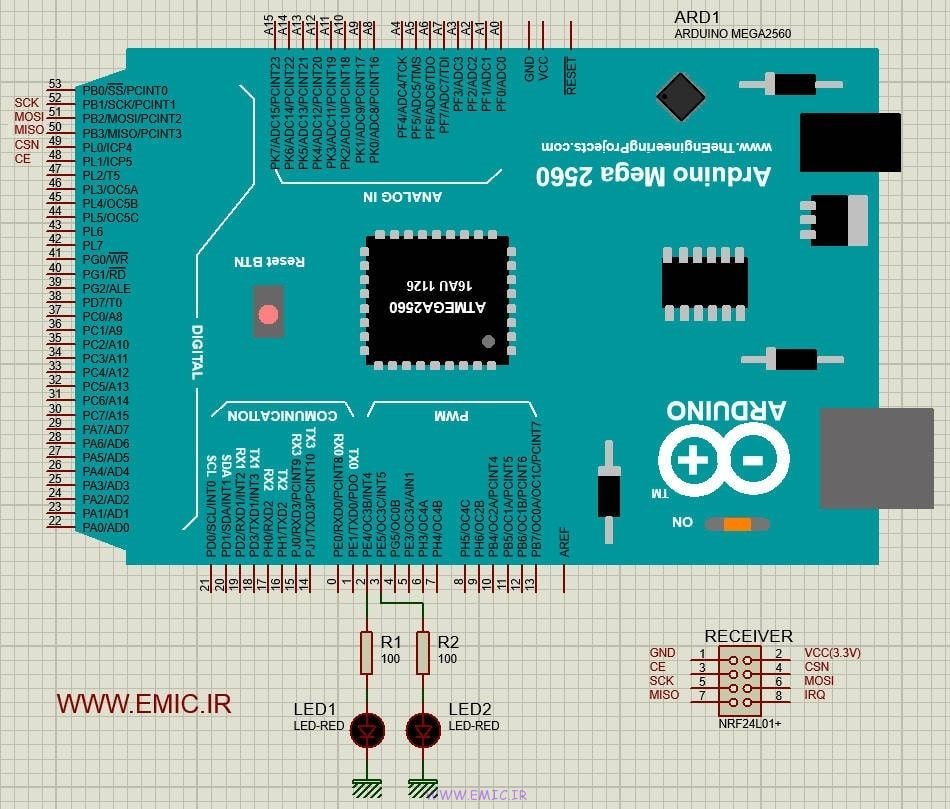 Receiver-NRF24L01-Test-with-Arduino