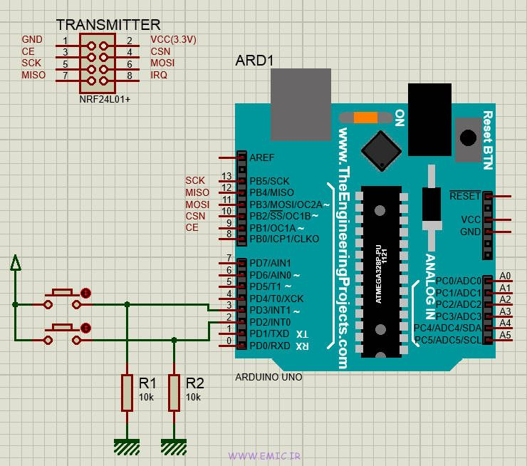 Transmitter-NRF24L01-Test-with-Arduino