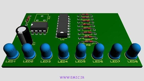 P-dancing-light-circuit-with-IC-4017-and-IC-555-emic