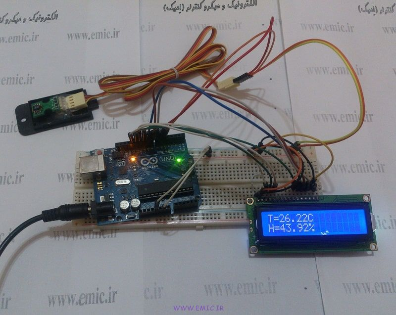 SHT1X-Test-with-Arduino-emic