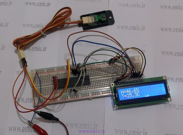 SHT1X-Test-with-avr-emic