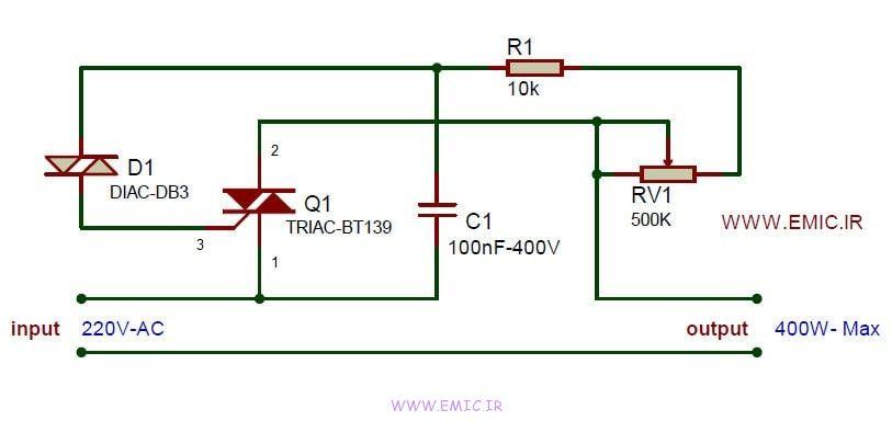 Dimmer-circuit-400watts-emic