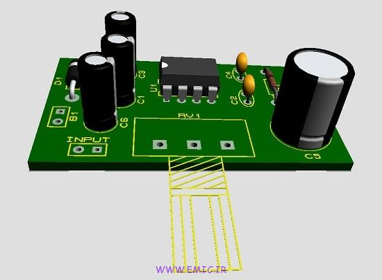 P-Amplifier-with-lm386-emic
