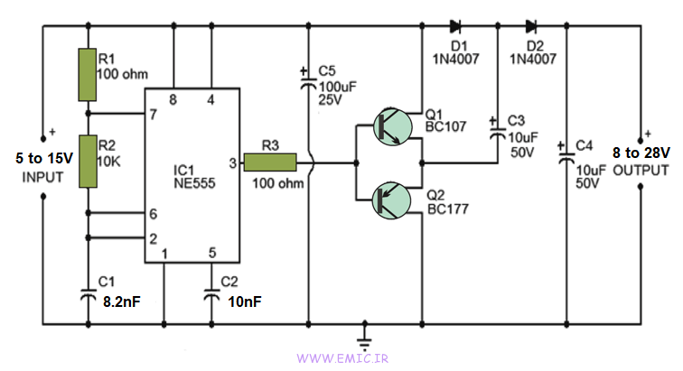 Voltage-Doubler-Circuit-with-ne555-emic