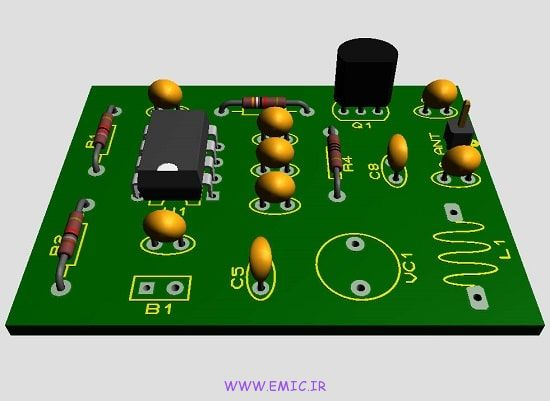 P-555-Tracking-Transmitter-circuit-emic