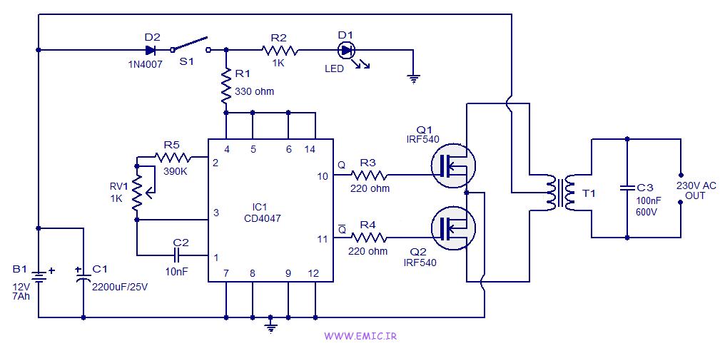 100W-inverter-circuit-using-CD4047-emic