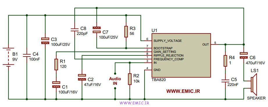 2Watt-Amp-Using-TBA820-IC-emic
