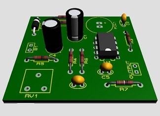 ico-Microphone-Amplifier-Using-Op-amp-741-emic