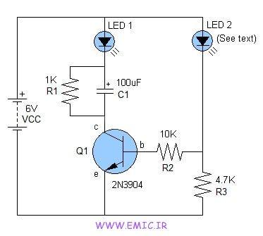 one-transistor-led-flasher-emic