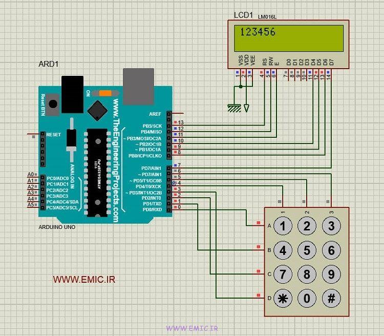 Arduino-LCD-KEY-PAD