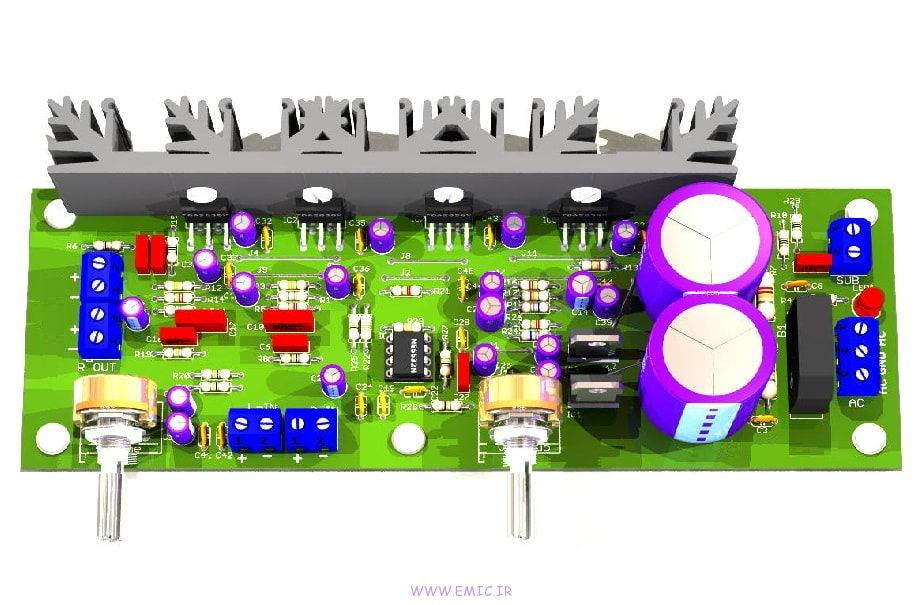Power-Amplifier-with-Subwoofer