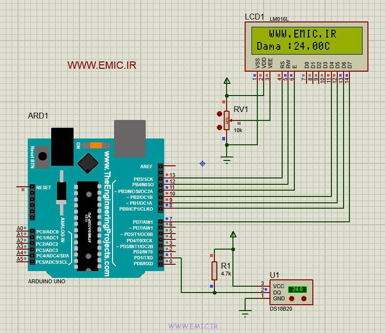 prj-DS18B20-LCD