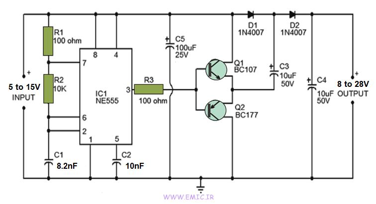 Voltage-Doubler-Circuit-with-ne555-emic