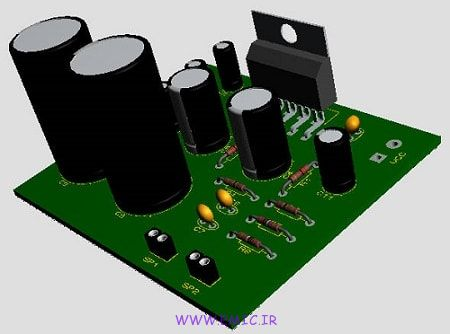 P-10W-Stereo-Audio-Amplifier- Using-TDA2009A-emic