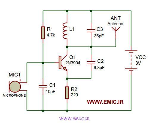 very-simple-FM-transmitter-emic