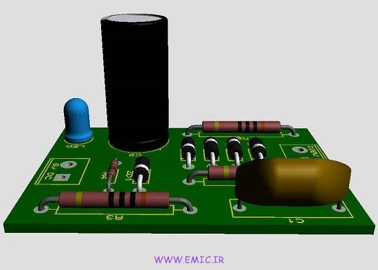 P-Transformerless-6V-power-supply-circuit-emic