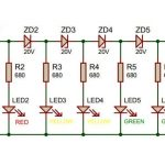 VU-Meter-without-transistors-and-ic-emic