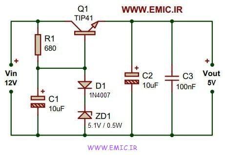 12V-to-5V-converter-circuit