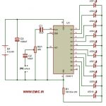 LED-Dancing-light-circuit-for-Amplifier-with-CD4017-emic