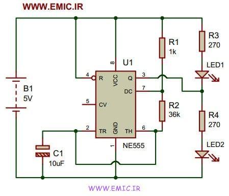 NE555-IC-Dual-LED-Flasher-emic