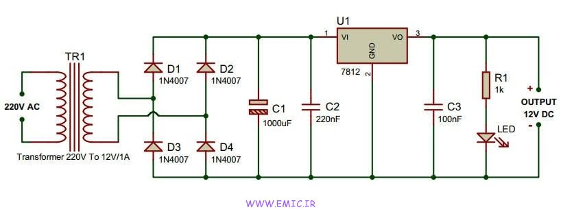 simple-12v-power-supply-circuit-with-7812-emic